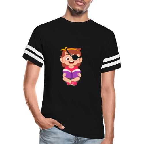 Little girl with eye patch - Vintage Sport T-Shirt