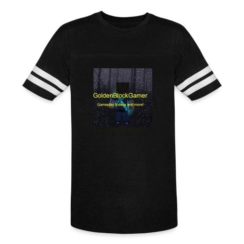 GoldenBlockGamer Tshirt - Vintage Sport T-Shirt