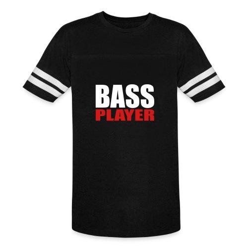 Bass Player - Vintage Sport T-Shirt