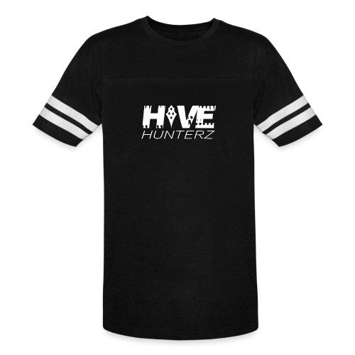 White Hive Hunterz Logo - Vintage Sport T-Shirt