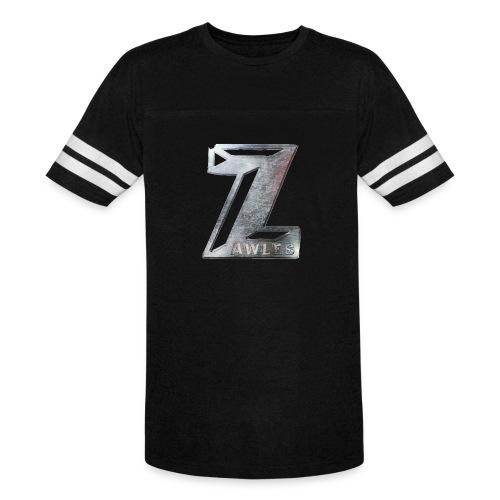 Zawles - metal logo - Vintage Sport T-Shirt