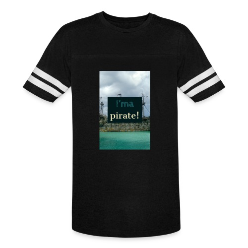 I 'ma Pirate | Men's Uni T-shirts - Vintage Sport T-Shirt