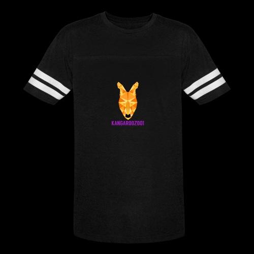 Kangaroozoo1 Logo & Name - Vintage Sport T-Shirt