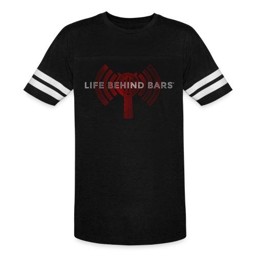 LBBPC Strainer Logo Red - Vintage Sport T-Shirt