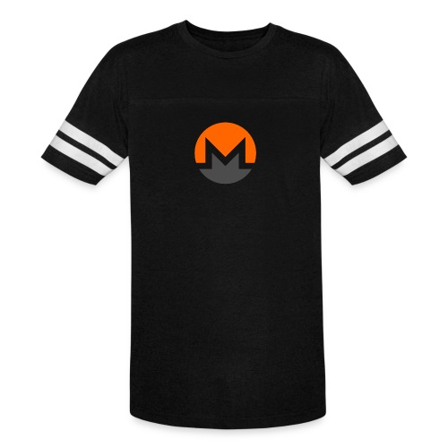 Monero crypto currency - Vintage Sport T-Shirt