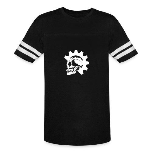 Gearhead Skull - Vintage Sport T-Shirt