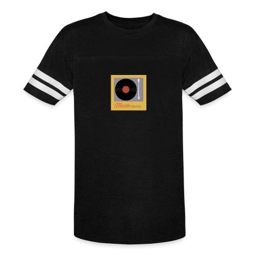 Music Truth Retro Record Label - Vintage Sport T-Shirt