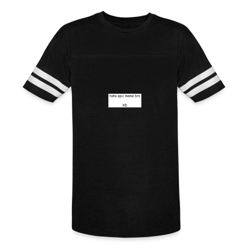 epic meme bro - Vintage Sports T-Shirt