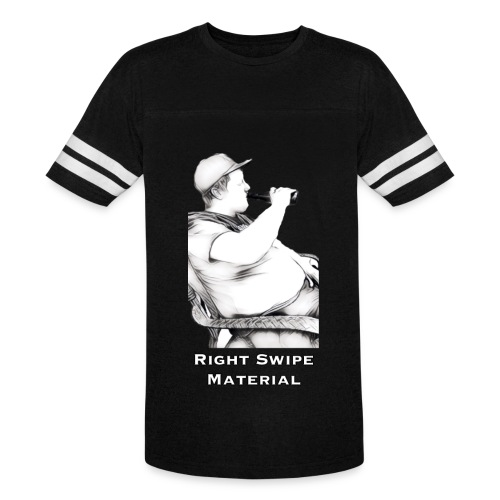 Right Swipe Material - Vintage Sport T-Shirt