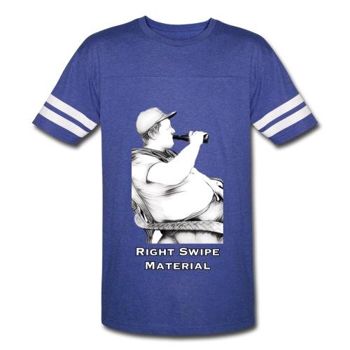 Right Swipe Material - Vintage Sport T-Shirt