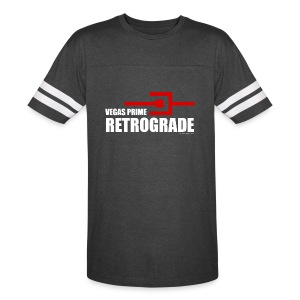 Vegas Prime Retrograde - Title and Hack Symbol - Vintage Sport T-Shirt