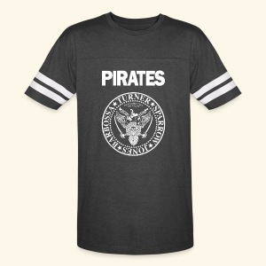 Punk Rock Pirates [heroes] - Vintage Sport T-Shirt