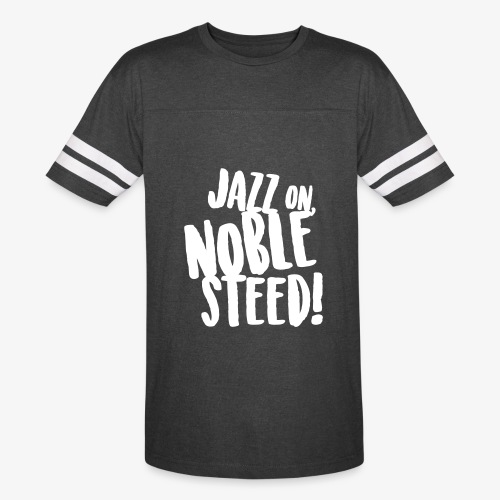 MSS Jazz on Noble Steed - Vintage Sport T-Shirt