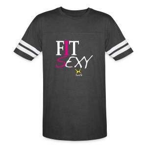 Fit Sexy IS A Good Combination - Vintage Sport T-Shirt
