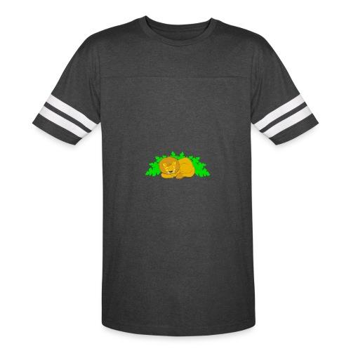 Sleeping Lion - Vintage Sport T-Shirt