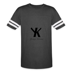 Young Kevino Official Logo (Black) - Vintage Sport T-Shirt