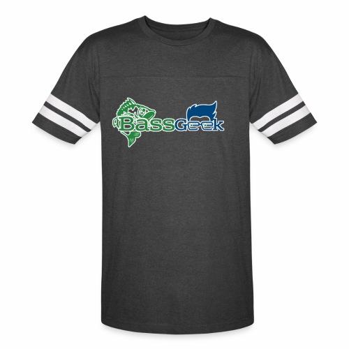 BassGeek Logo - Vintage Sport T-Shirt