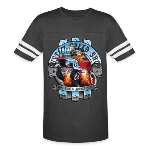 Custom Speed Shop Hot Rods and Muscle Cars Illustr - Vintage Sport T-Shirt