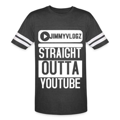 Straight Outta YouTube Merch! - Vintage Sport T-Shirt