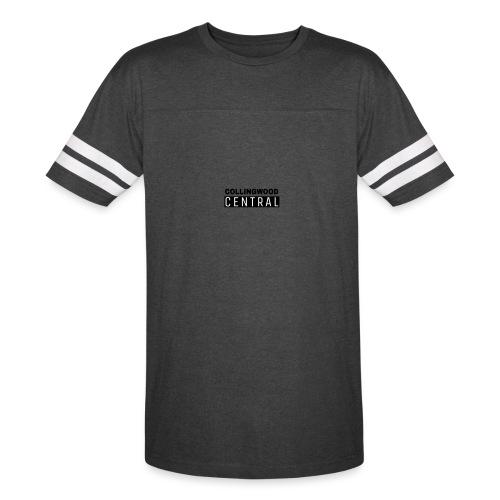 BLK Collingwood Central Logo - Vintage Sport T-Shirt