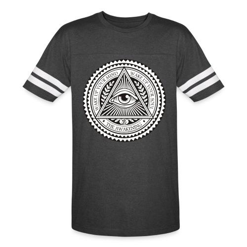 all seeing eye logo png - Vintage Sport T-Shirt