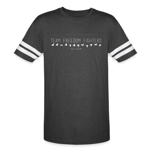team freedom fighters log - Vintage Sport T-Shirt