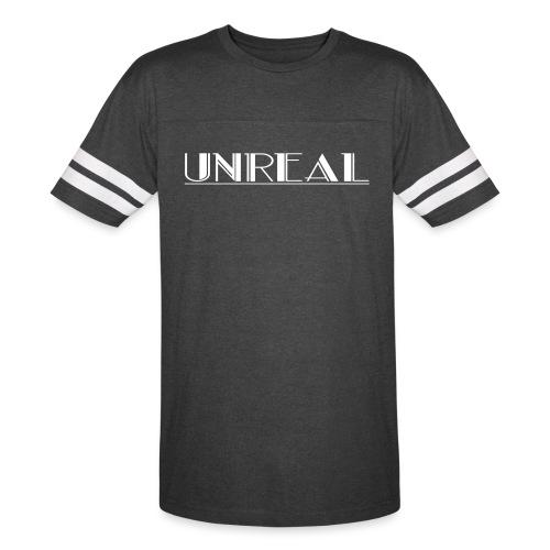 Unreal Designs Baseball Tee - Vintage Sport T-Shirt