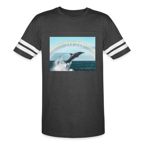 dolphin - Vintage Sport T-Shirt