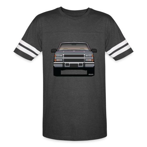 Design Icon: American Bowtie Silver Urban Truck - Vintage Sport T-Shirt