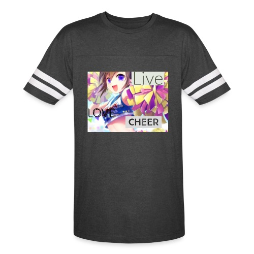 live love cheer - Vintage Sport T-Shirt