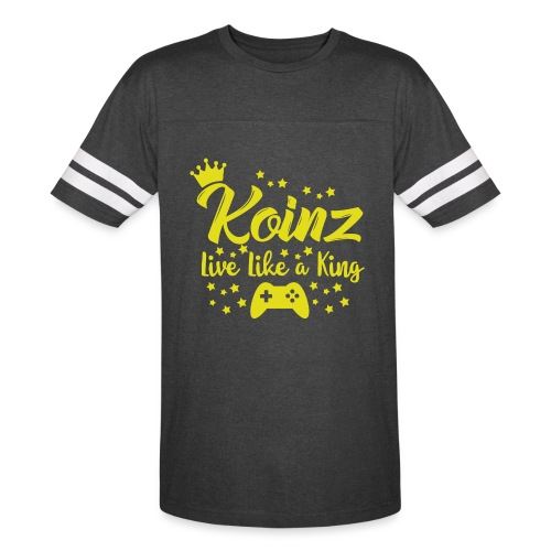 Live Like A King - Vintage Sport T-Shirt
