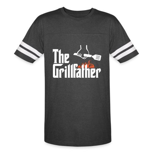 The Grillfather - Vintage Sport T-Shirt