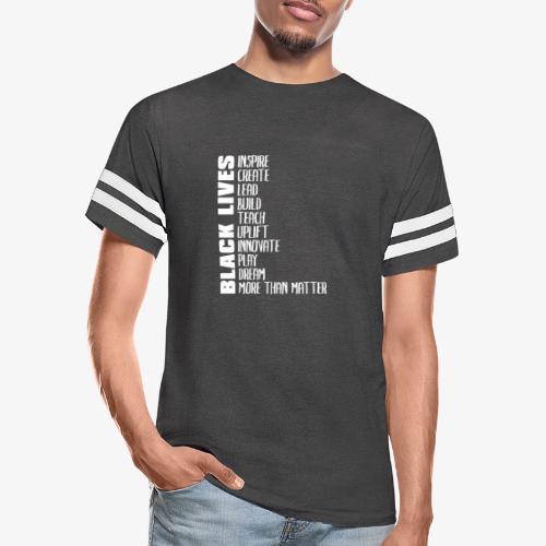 Black Lives More Than Matter - Vintage Sport T-Shirt
