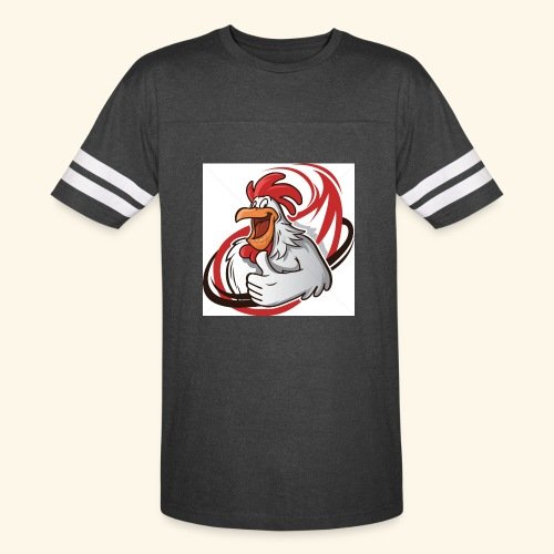 cartoon chicken with a thumbs up 1514989 - Vintage Sport T-Shirt