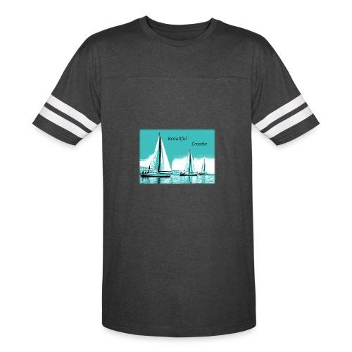 Beautiful Croatia - Vintage Sport T-Shirt