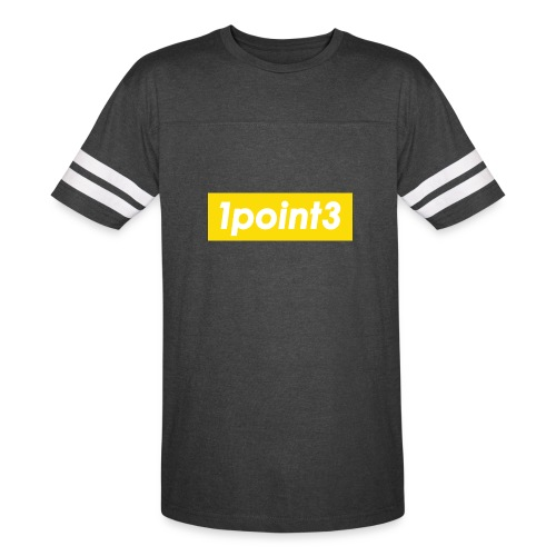 1point3 yellow - Vintage Sport T-Shirt