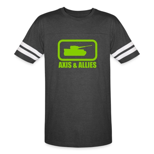 Tank Logo with Axis & Allies text - Multi-color - Vintage Sport T-Shirt