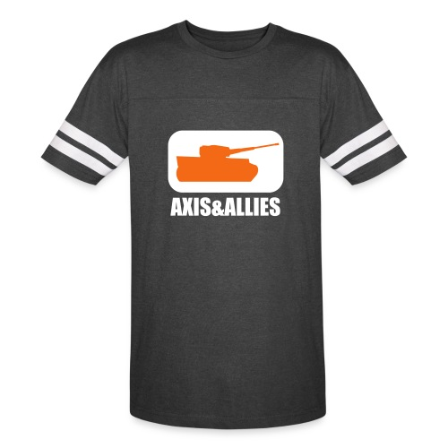 Axis & Allies Tank Logo - Dark - Vintage Sports T-Shirt