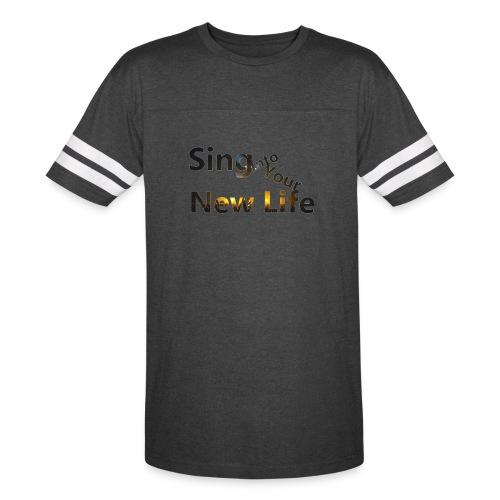 Sing in Brown - Vintage Sport T-Shirt