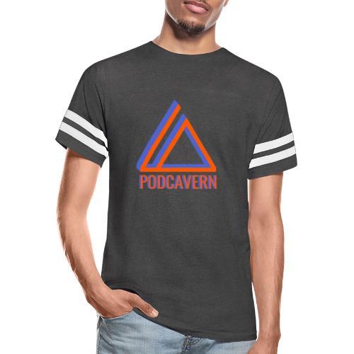 PodCavern Logo - Vintage Sport T-Shirt