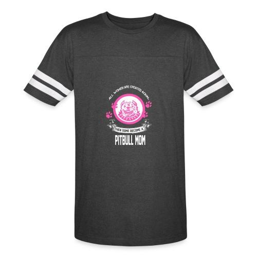 pitbullmom - Vintage Sport T-Shirt