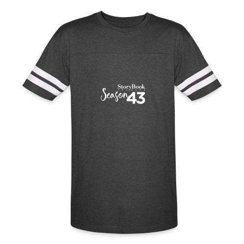 SBT43 Season43 LOGO WHT - Vintage Sport T-Shirt