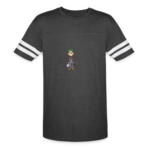 a4 marc logo - Vintage Sport T-Shirt