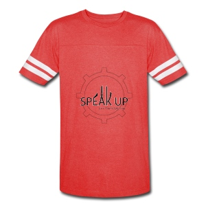 speak up logo 1 - Vintage Sport T-Shirt