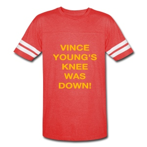 Vince Young's Knee Was Down - Vintage Sport T-Shirt