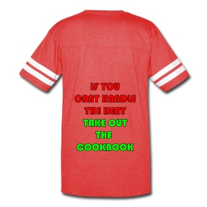 If you can't handle the head take out the cookbook - Vintage Sport T-Shirt