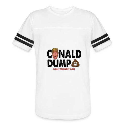 Conald Dump Worst President Ever - Vintage Sport T-Shirt