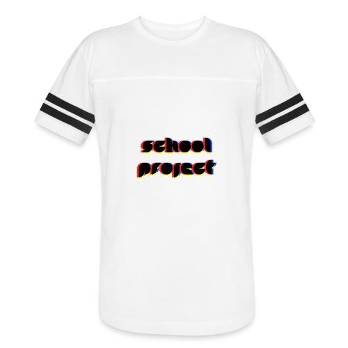 SCHL PRJCT Glitch R - Vintage Sport T-Shirt
