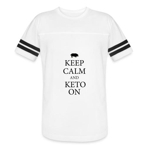 Keto keep calm2 - Vintage Sport T-Shirt
