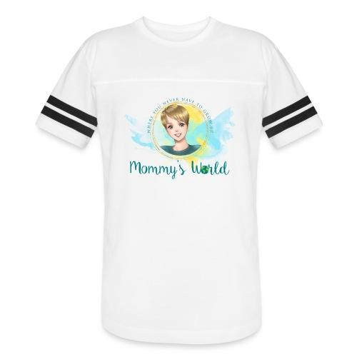 Mommys World Alternate Logo - Vintage Sport T-Shirt
